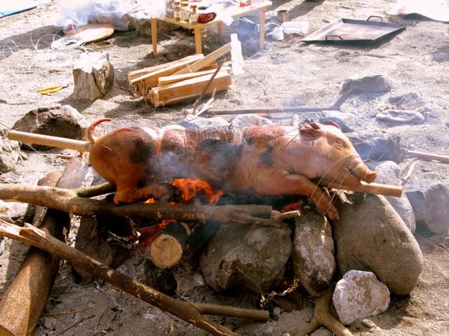 cottonのブログ-豚焼き
